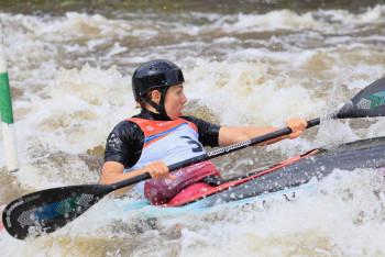 Mistrovské tituly ve vodním slalomu získali Lhota, Tunka, Fišerová a Vojtová