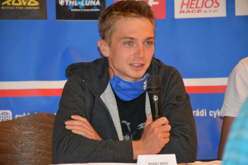 Cyklokosař Michael Boroš z Cyklo Teamu Tábor vyhrál první závod Toi Toi Cupu v Mladé Boleslavi
