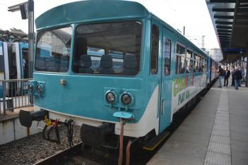 Výletní vlak Cyklohráček plný her je v Evropě unikátní soupravou pro děti a turisty