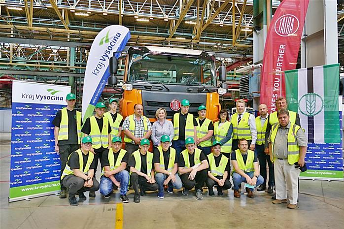 Vysočina: Další Tatra z projektu Postav si svůj náklaďák