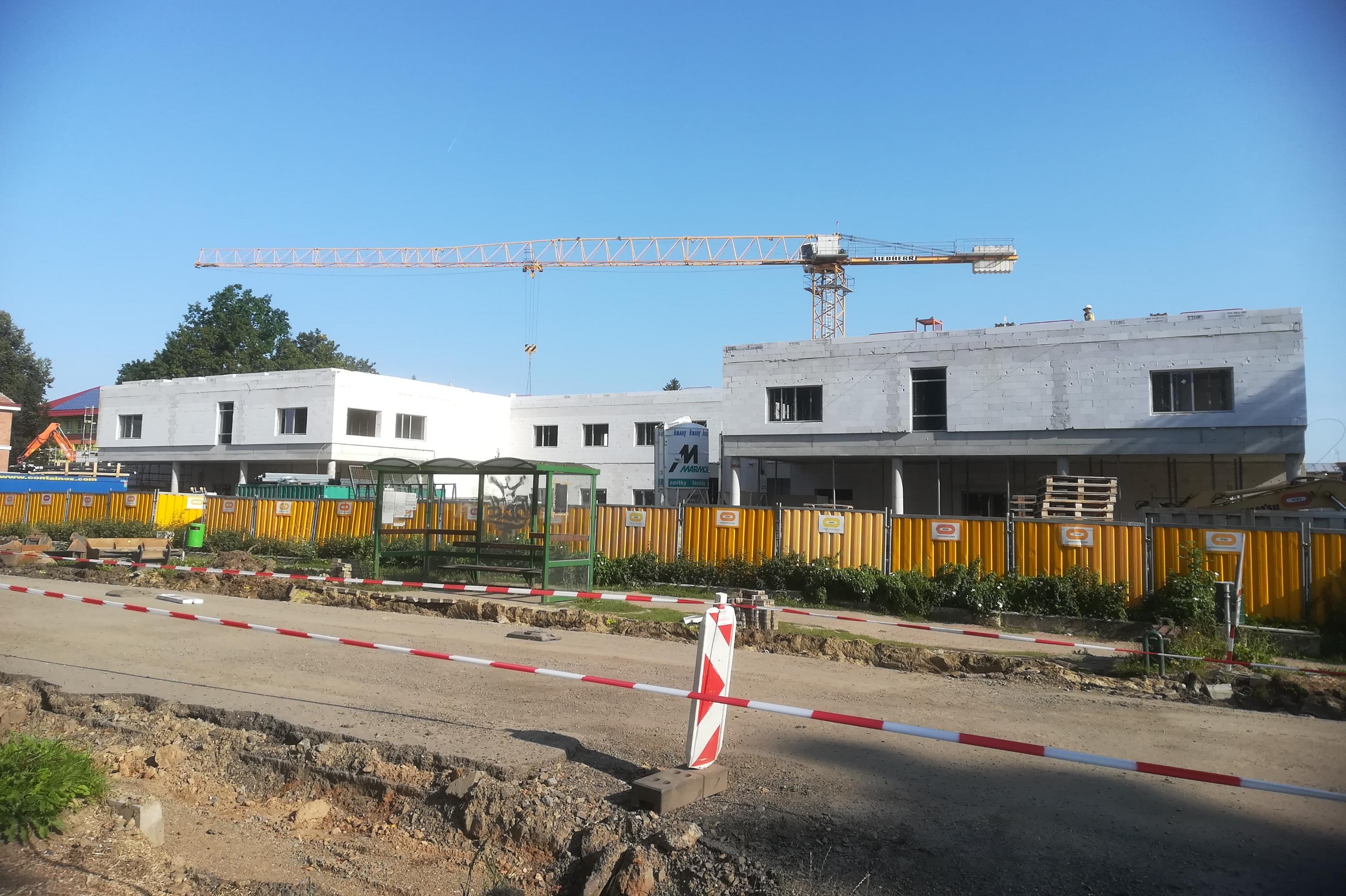 Nová nemocnice v Moravské Třebové se mění před očima
